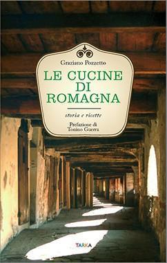 Copertina del libro Le cucine di Romagna, di Graziano Pozzetto