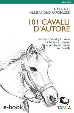 101 cavalli d'autore, a cura di Sandro Paronuzzi, copertina del libro ebook