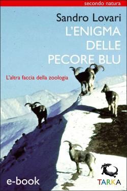 L'enigma delle pecore blu, di Sandro Lovari, copertina del libro