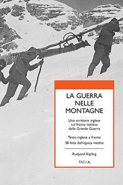 Copertina del libro La guerra nelle montagne, di Rudyard Kipling