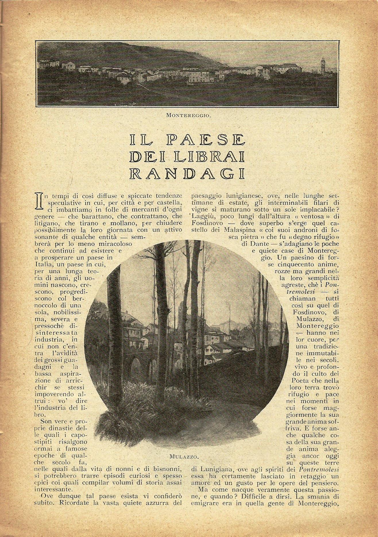 Da La Lettura del 1926, Il Paese dei Librai randagi p. 2 di 3