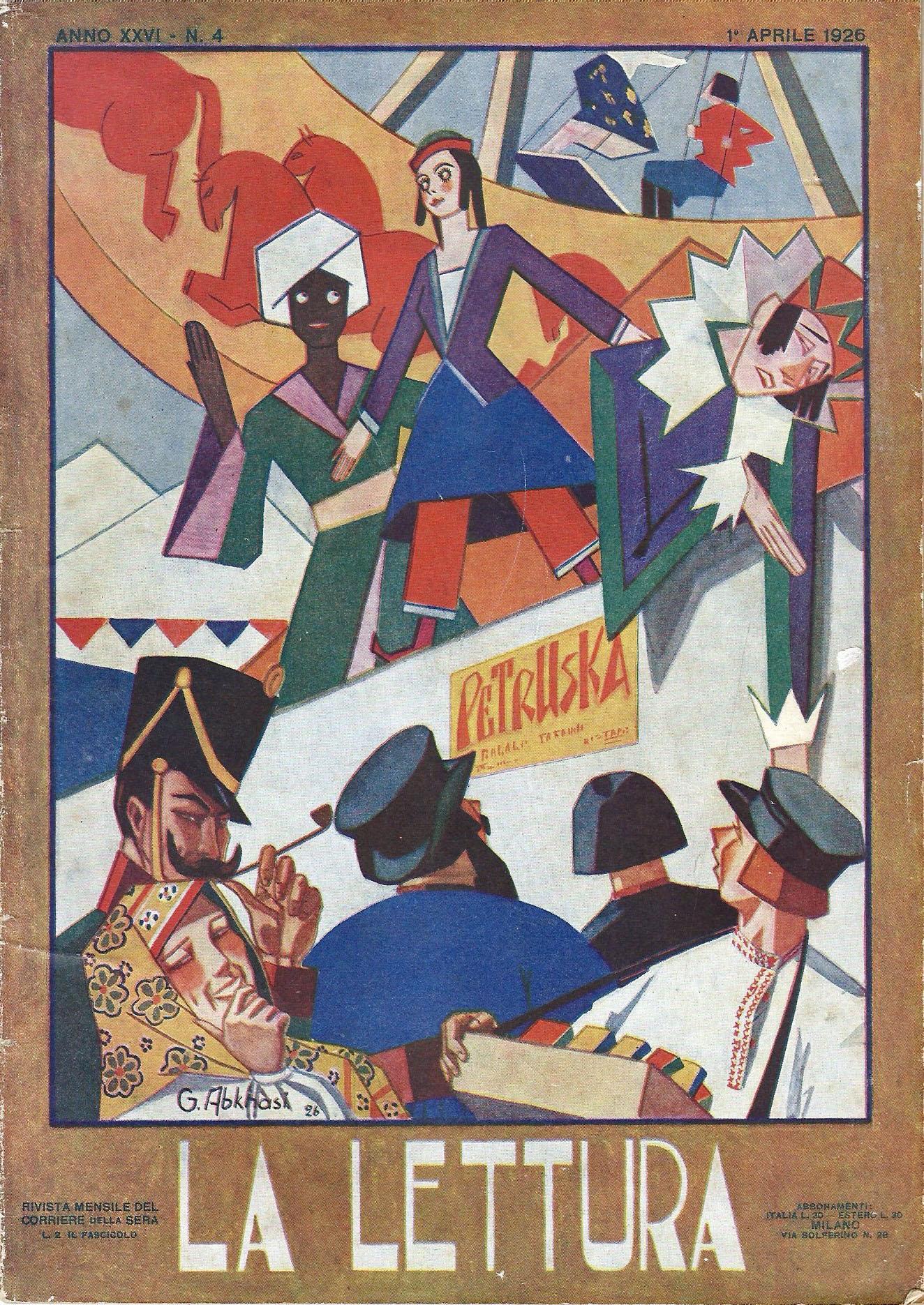 Da La Lettura del 1926: Il Pese dei Librai randagi p. 1 di 3
