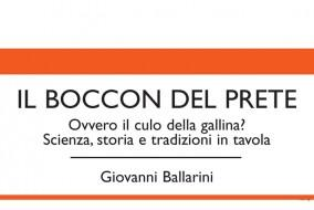 etichetta del libro Il boccon del prete, di Giovanni Ballarini