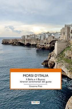 """copertina del libro """"Morsi d'Italia"""" di Giacomo Pilati"""