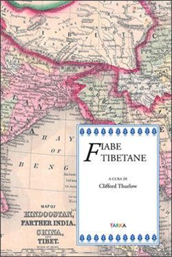 copertina del libro Fiabe tibetane, a cura di Clifford Thurlow