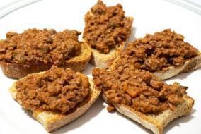 crostini di carne
