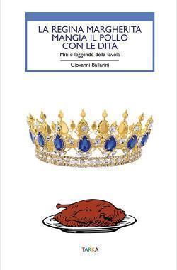 La regina Margherita mangia il pollo con le dita