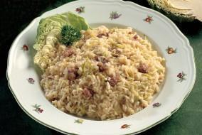 minestra riso verze salsiccia